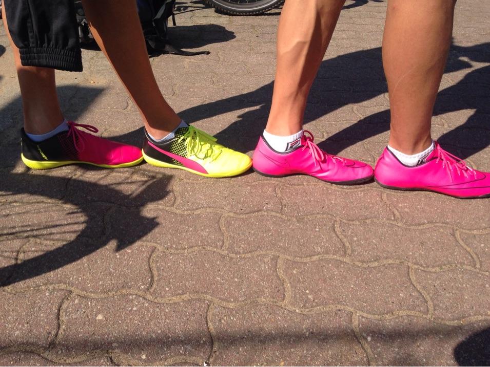 Die schönsten Beine mit den schönsten Schuhen ;-)